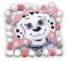 Cushion With Dalmatian Puppy