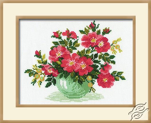Cross Stitch Kits Riolis Cross Stitch Kits Flowers Wild