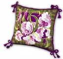 Cushion With Irises