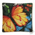 Cushion With Butterflies II