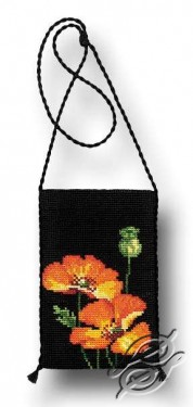 Evening Bag - The Poppies