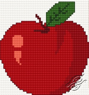 A Red Small Apple