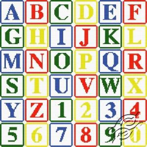 Free Patterns Alphabets Alphabet I Gvello Stitch