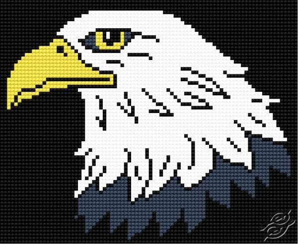 Free Patterns Animals Eagle Gvello Stitch