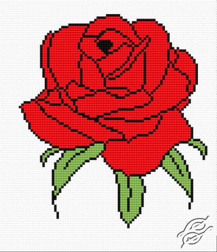 Free Patterns Flowers Rose Gvello Stitch