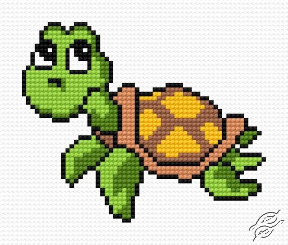 FREE PATTERNS - Animals - Small Tortoise - Gvello Stitch