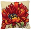Cushion With Delicious Poppy