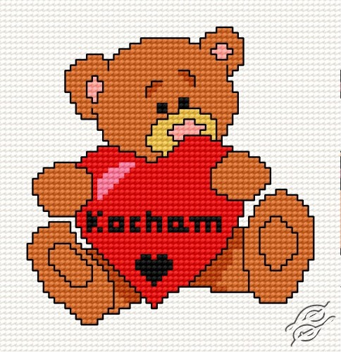 Free Patterns Special Occasions Teddy Bear Iv Gvello Stitch