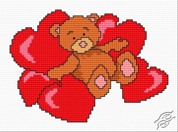 Teddy Bear Cross Stitch Patterns Www Bilderbeste Com