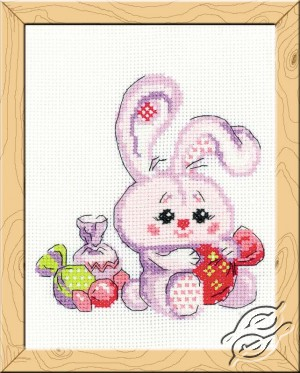 Bunny with a Candy