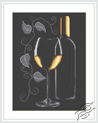 Cross Stitch Kits Luca S Diverse Bottle Of Wine