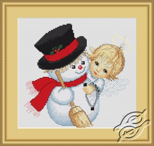 Angel and Snowman