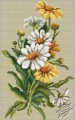 Daisies on Linen