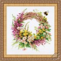 Wreath with Fireweed