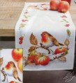 Robin Redbreast With Apples