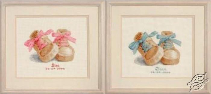 схемы вышивки к рождению ребенка