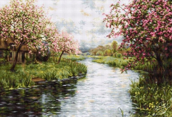 Cross Stitch Kits Luca S Cities Amp Landscapes Spring