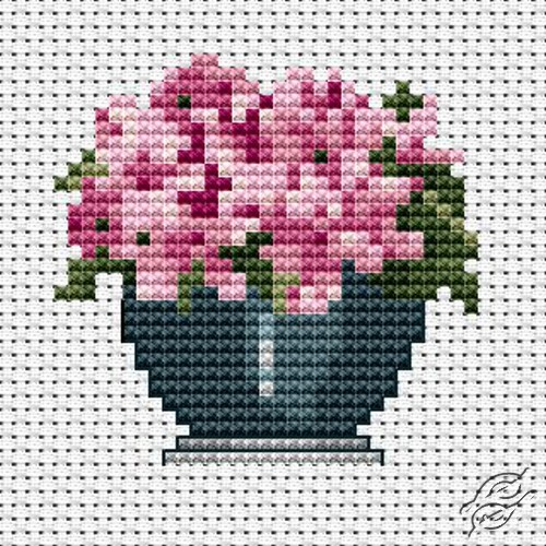 FREE PATTERNS Flowers Gvello Stitch Gorgeous Cross Stitch Free Patterns