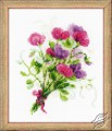 Bouquet with Sweet Peas