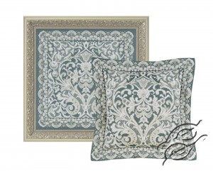 Cushion/Pannel Viennese Lace