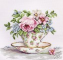 Blooms in a Tea Cup