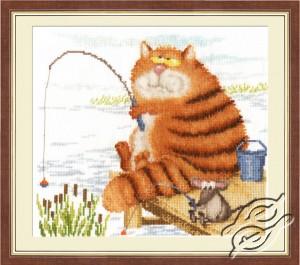 \u0421ross stitch kit LanArte Teddy Bears