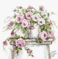 Roses on a Stool