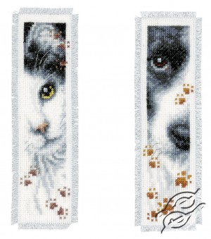 Bookmark - Cat And Dog III