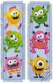 Bookmark - Little Monsters