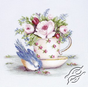 Bird and Tea Cup