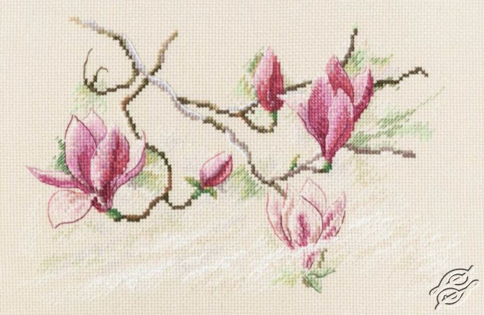 Bouquet of Ranunculuses Cross Stitch Kit RTO M204