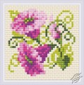 Diamond Mosaic Purple Bindweed