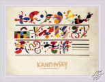 Succession after W. Kandinsky's composition