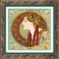 Laurel by Mucha
